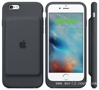 Cupertino Company Releases New Battery Case for IPhone 6s
