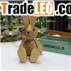 wooden rabit lover gift