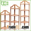 Frame Strong Bamboo 5-Tier Corner Rack Display Shelf